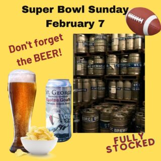 This weekend Friday open 12-8 With @jessielousfoodtruck serving the best grilled cheese in town with loaded potato soup and chili Saturday 11-8 @yazyoga 9:30-10:30 @carmensjamaicanauthenticcuisine with jerk chicken, curry chicken and oxtail Don't forget the beer for Super Bowl Sunday... kegs, growlers or your favorite 6 pack available #greatbeer #superbowl #superbowlbeer #kegs #growlers #foodtruckfood #weekendvibes