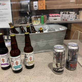 Out and about today? Go see @michellevenzke at Total Wine in Newport News and enjoy some delicious samples of St. George beers! Just in time to grab your favorite for the big game tomorrow!!
