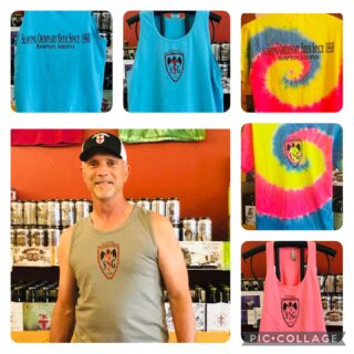 Are you ready for Summer? Hot new merchandise is in with our killer new logo! Come get stocked up on beer and new merchandise! 15 beers on tap!#slayingordinarybeersince1998 #greatbeer #shoplocal #craftbeerva #drinklocal @hamptonva @mpricedistributing @specialtybevva @veermagazine @dailypressnews @virginianpilot