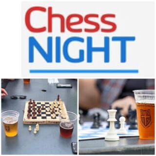 Tonight is Chess Night 6-8 It's not too late to join us for the First Beer Olympics. Sign up today #slayingordinarybeersince1998 #greatbeer #chess #chessnight #olympics #beergames