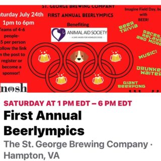 Open 11-9 Today is the day, the BEER OLYMPICS is here. Have a pint and see what it's all about. 20% off draft for all First Responders. @noshstg serving delicious food all day. Entertainment by Tony Bob @youngtbobby #slayingordinarybeersince1998 #beergames @__beer_lovers #beerloversofinstagram #beerfan #craftbeers #foodtruckfood #livemusic