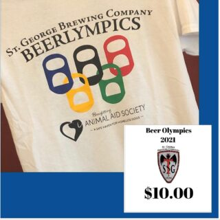 Get yours before they are gone! Limited amount available small-3XL. Only $10 If you missed out on Beerlympics, don't miss out on this awesome T-shirt!! #slayingordinarybeersince1998 #beerlove #craftbeers @__beer_lovers #beerlympics #beergames #olympics