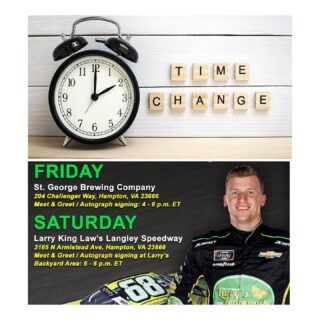 TONIGHT 5-7 @brandonbrown_68 is running a little late… he will be here tonight from 5-7 #nascar #brandonbrown #racing #slayingordinarybeersince1998 #craftbeers