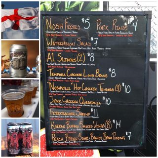 It's the weekend! We have what you need… BEER! Join us for a pint of GREAT BEER and delicious food by @noshstg … lots of beer to get you through the weekend #slayingordinarybeersince1998 #oktoberfest #ofestbeer #dipa #flights #foodtruckfood #barfood